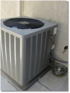 clean well serviced air conditioner