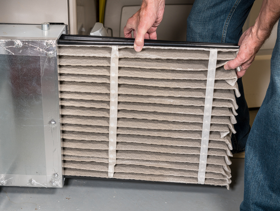 changing HVAC filter